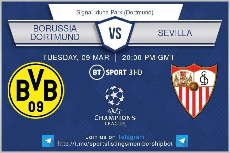 Borussia Dortmund v Sevilla