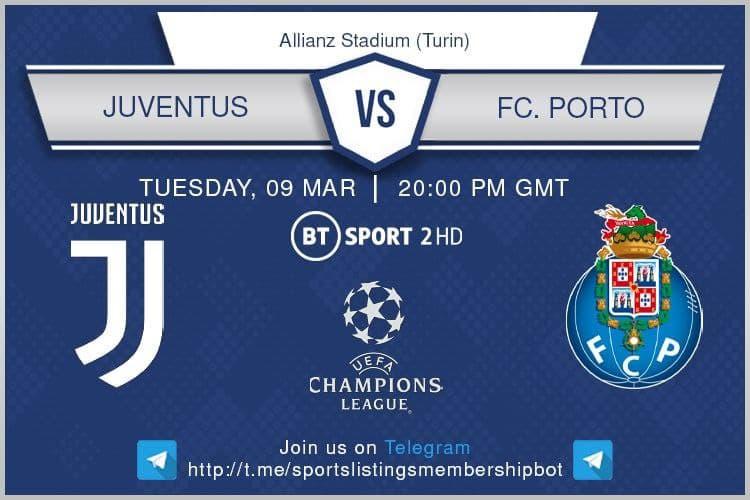 Juventus v Porto
