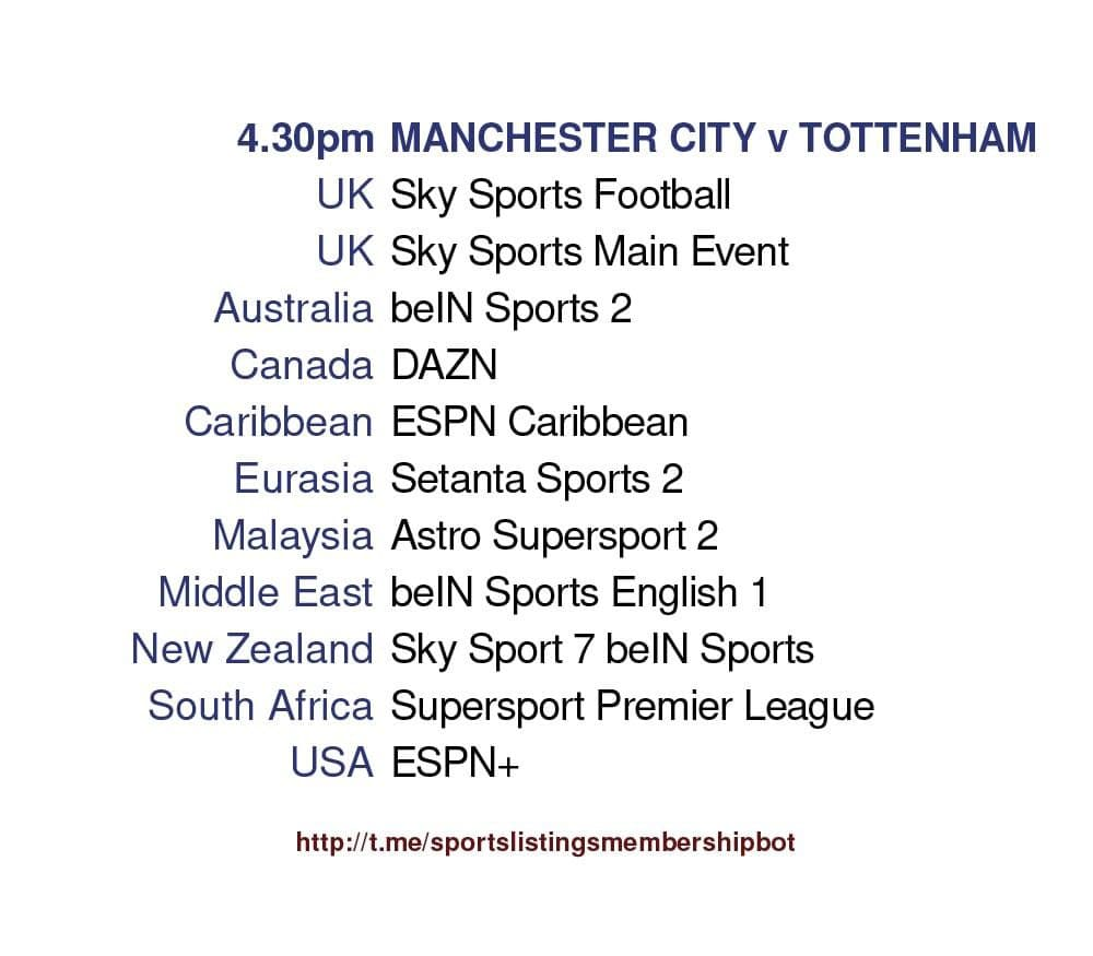 Carabao Cup & Others 25/4/2021 -Manchester City v Tottenham detailed