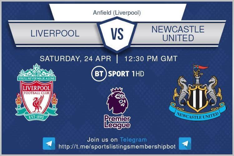 Premier League 24/4/2021 - Liverpool v Newcastle