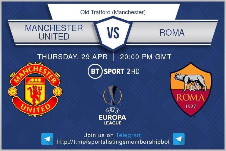 Europa League 29/4/2021 -  Manchester United v Roma