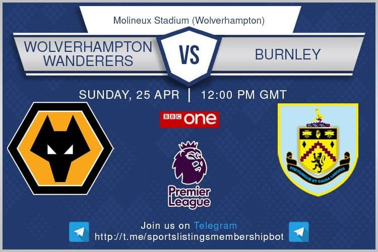 Carabao Cup & Others 25/4/2021 -Wolves v Burnley