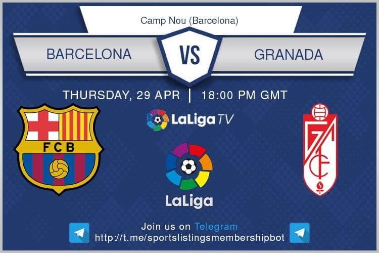 Europa League 29/4/2021 -Barcelona v Granada