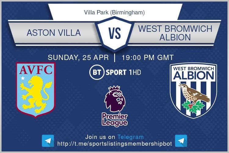 Carabao Cup & Others 25/4/2021 -Aston Villa v West Bromwich Albion