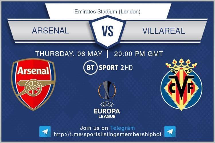 Europa League 6/5/2021 - Arsenal v Villareal