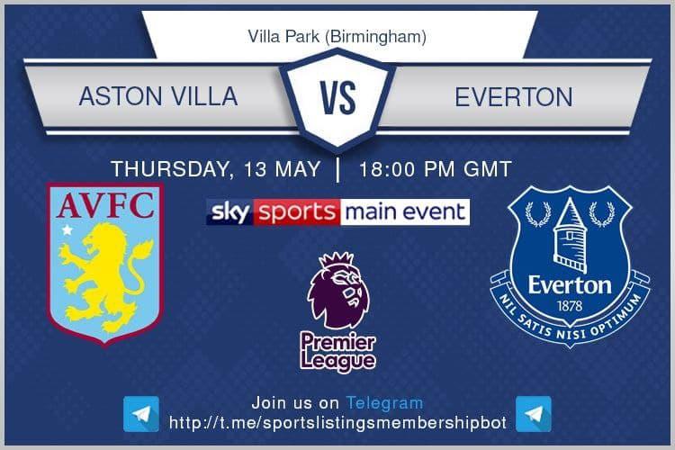 Premier League 13/5/2021 - Aston Villa v Everton
