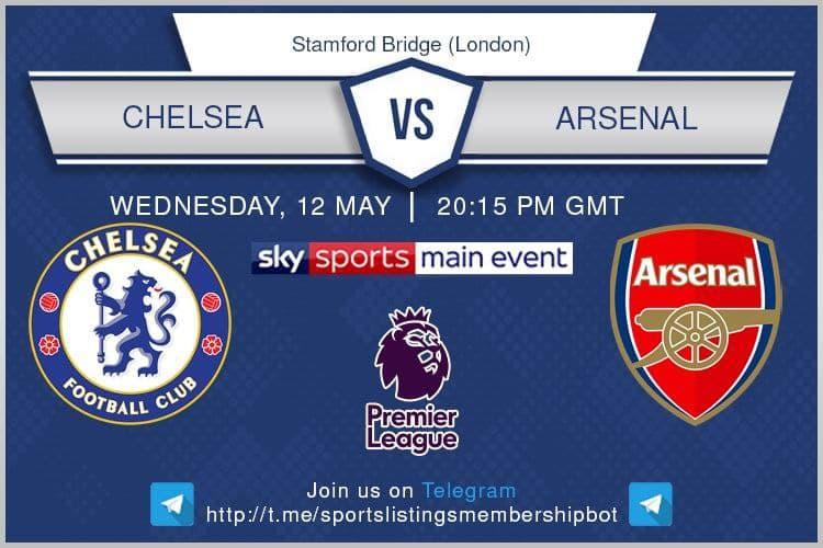 Premier League 12/5/2021 - Chelsea v Arsenal