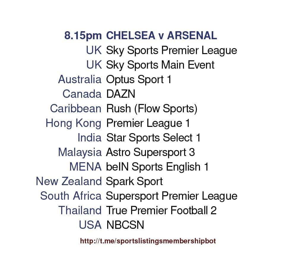 Premier League 12/5/2021 - Chelsea v Arsenal detailed