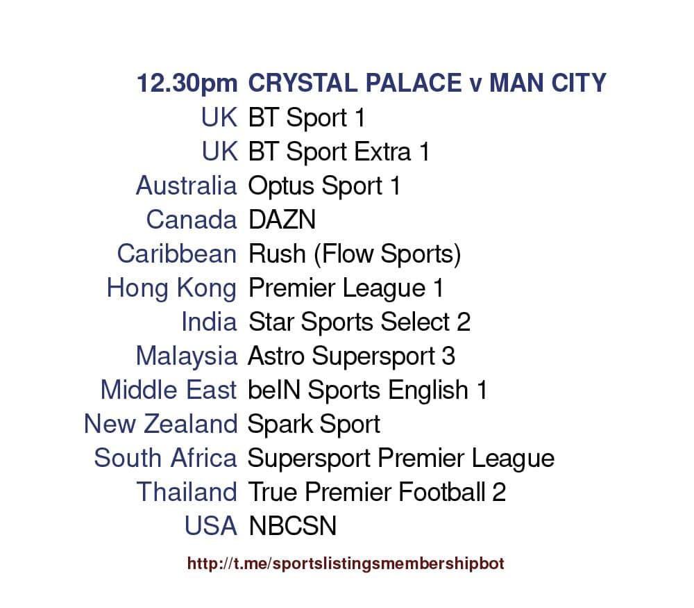 Premier League 1/5/2021 - Crystal Palace v Manchester City