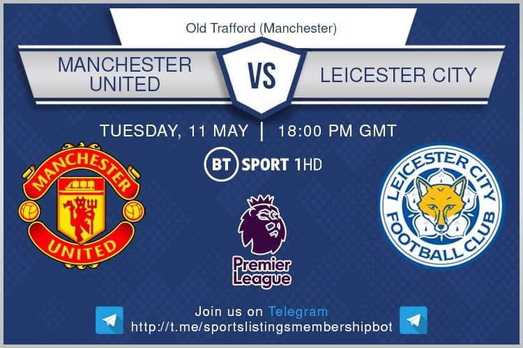 Premier League 11/5/2021 - Manchester United v Leicester