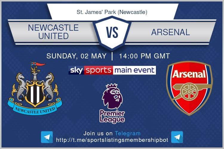 Premier League 2/5/2021 - Newcastle United v Arsenal