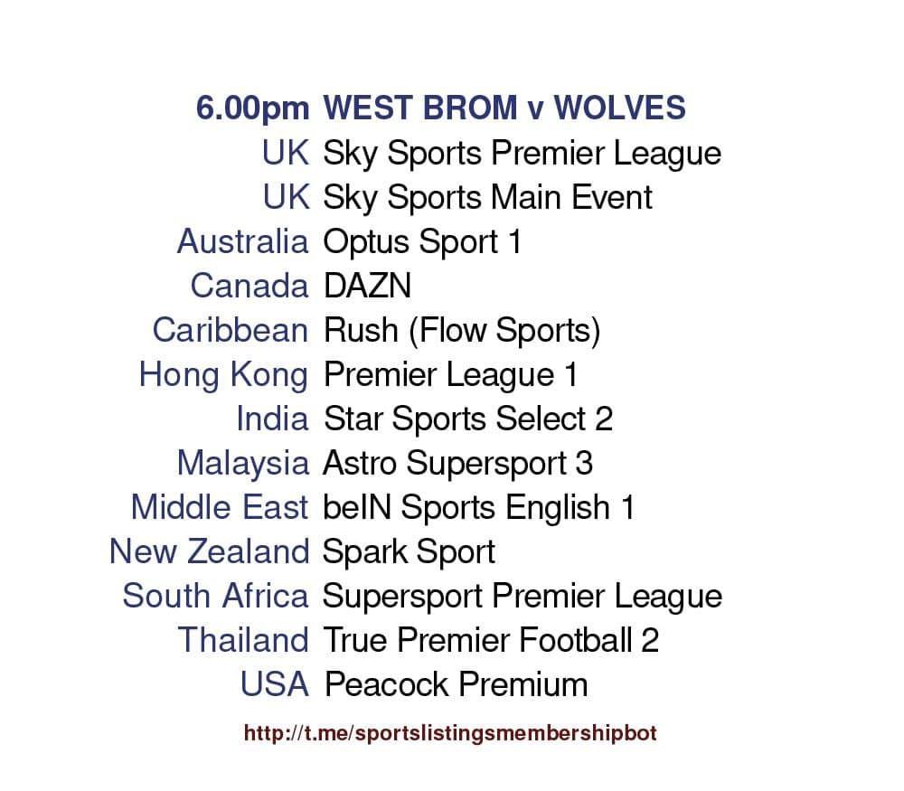 Premier League 3/5/2021 - West Bromwich Albion v Wolves