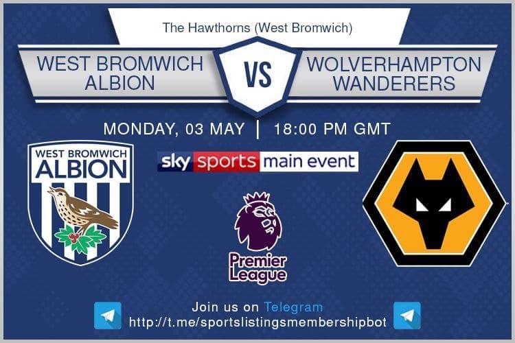 Premier League 3/5/2021 -West Bromwich Albion v Wolves