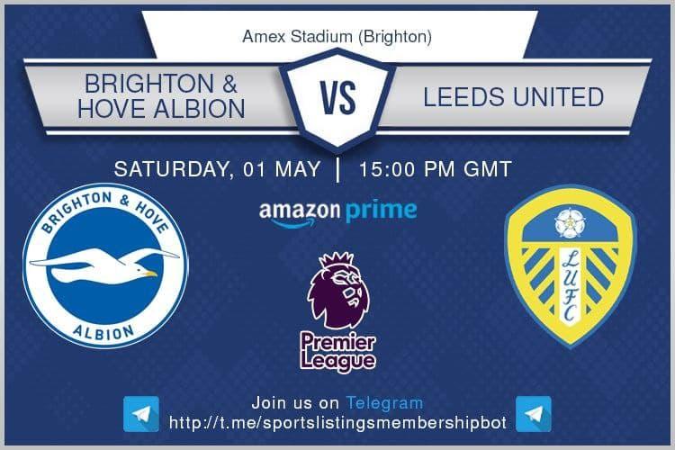 Premier League 1/5/2021 -Brighton v Leeds United