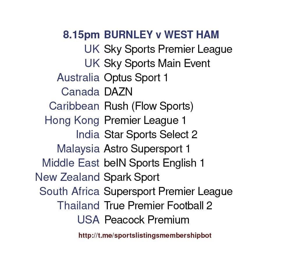 Premier League 3/5/2021 - Burnley v West Ham United.