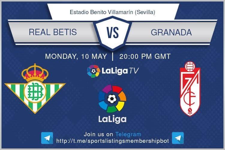 Premier League 10/5/2021 -Real Betis v Granada
