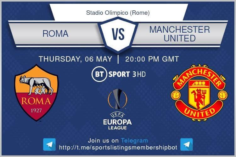 Europa League 6/5/2021 - Roma v Manchester United