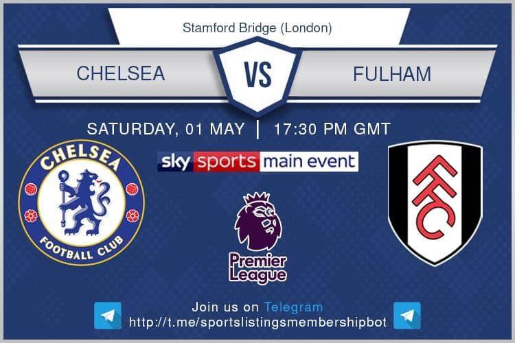 Premier League 1/5/2021 -Chelsea v Fulham