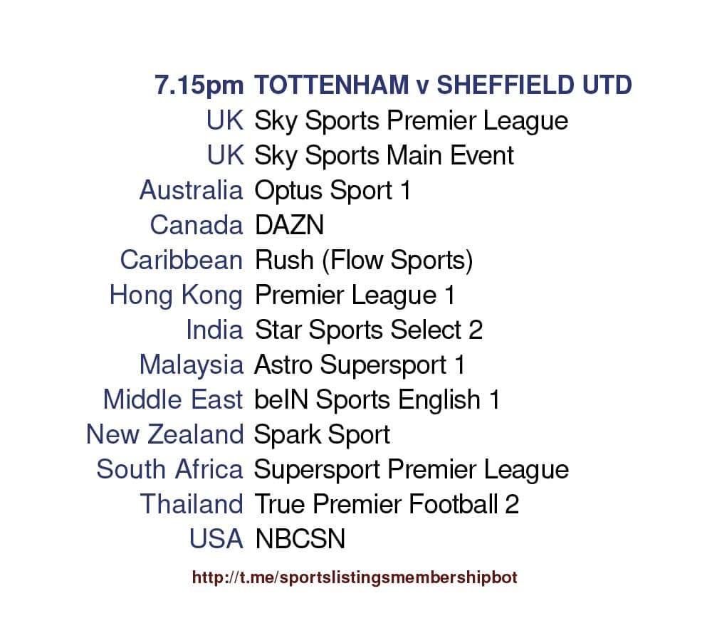 Premier League 2/5/2021 - Tottenham v Sheffield United