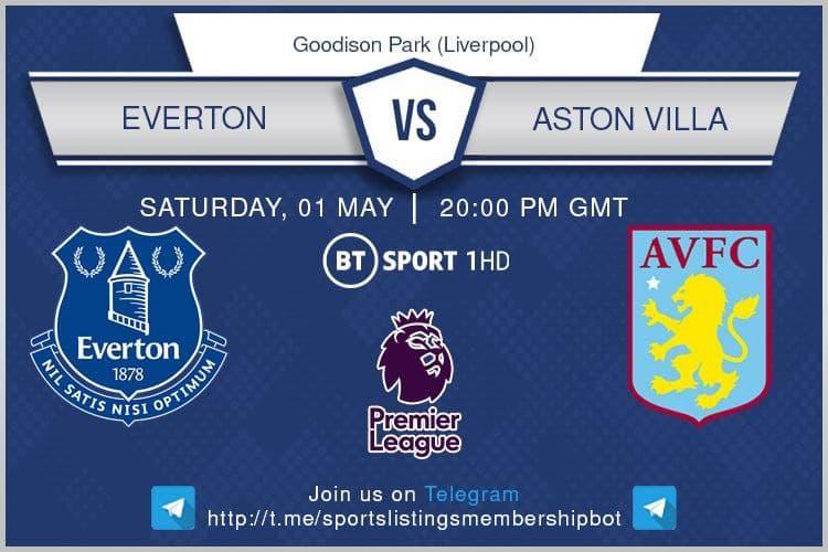 Premier League 1/5/2021 - Everton v Aston Villa