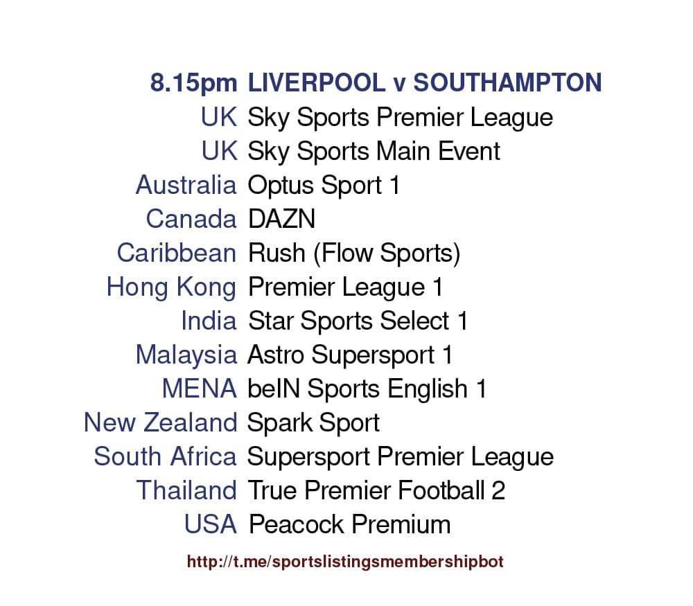 Premier League 8/5/2021 - Liverpool v Southampton