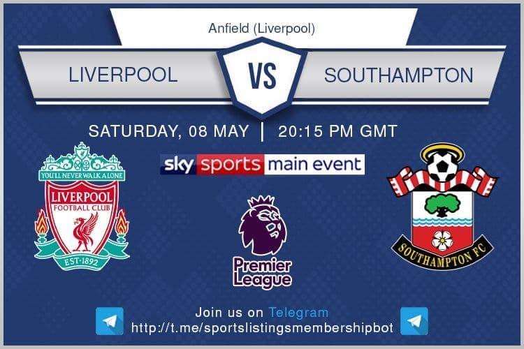 Premier League 8/5/2021 -Liverpool v Southampton