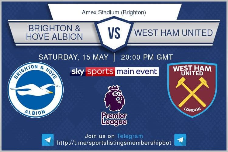 Brighton v West Ham United