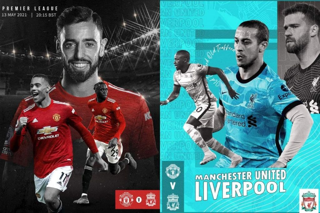 Premier League 13/5/2021 - United v Liverpool